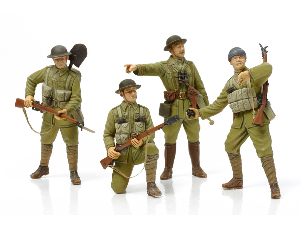 Tamiya British Infantry - With Small Arms & Equipment - Scale 1/35 - Tamiya - TAM32409