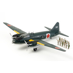 Mitsubishi G4M1 Model 11 - Admiral Yamamoto Transport - Scale 1/48 - Tamiya - TAM61110