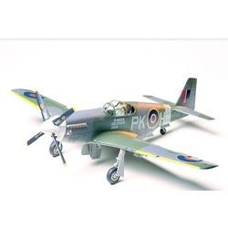 North American Raf Mustang III Aircraft - Scale 1/48 - Tamiya - TAM61047