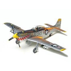 F51D Mustang Korean War Aircraft - Scale 1/48 - Tamiya - TAM61044