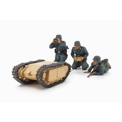 German Assault Pioneer Team - With 2 Goliath Sets - Scale 1/35 - Tamiya - TAM35357