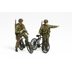 British Paratroopers Set - W/Bicycles - Scale 1/35 - Tamiya - TAM35333