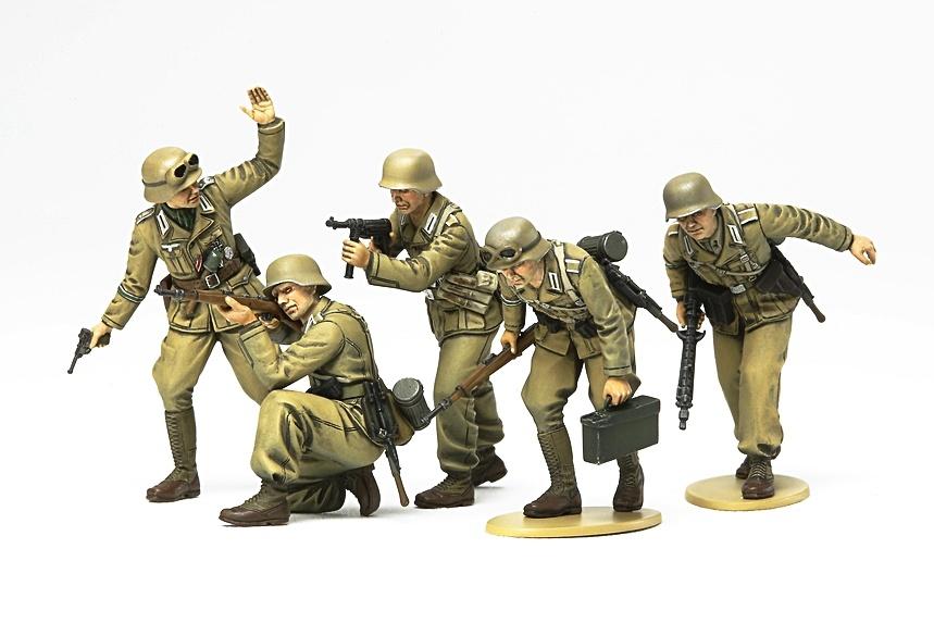 Tamiya German Africa Corps Infantry - Scale 1/35 - Tamiya - TAM35314