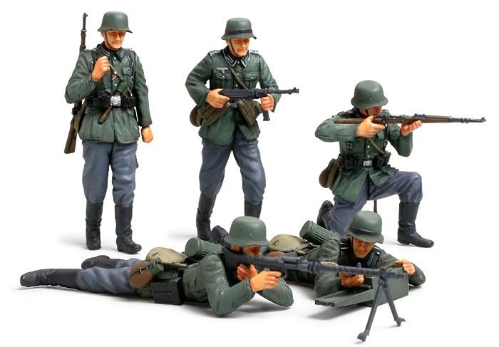Tamiya German Infantry Set (French Campaign) - Scale 1/35 - Tamiya - TAM35293