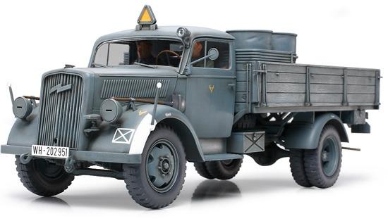 Tamiya German 3-Ton 4X2 Cargo Truck - Scale 1/35 - Tamiya - TAM35291