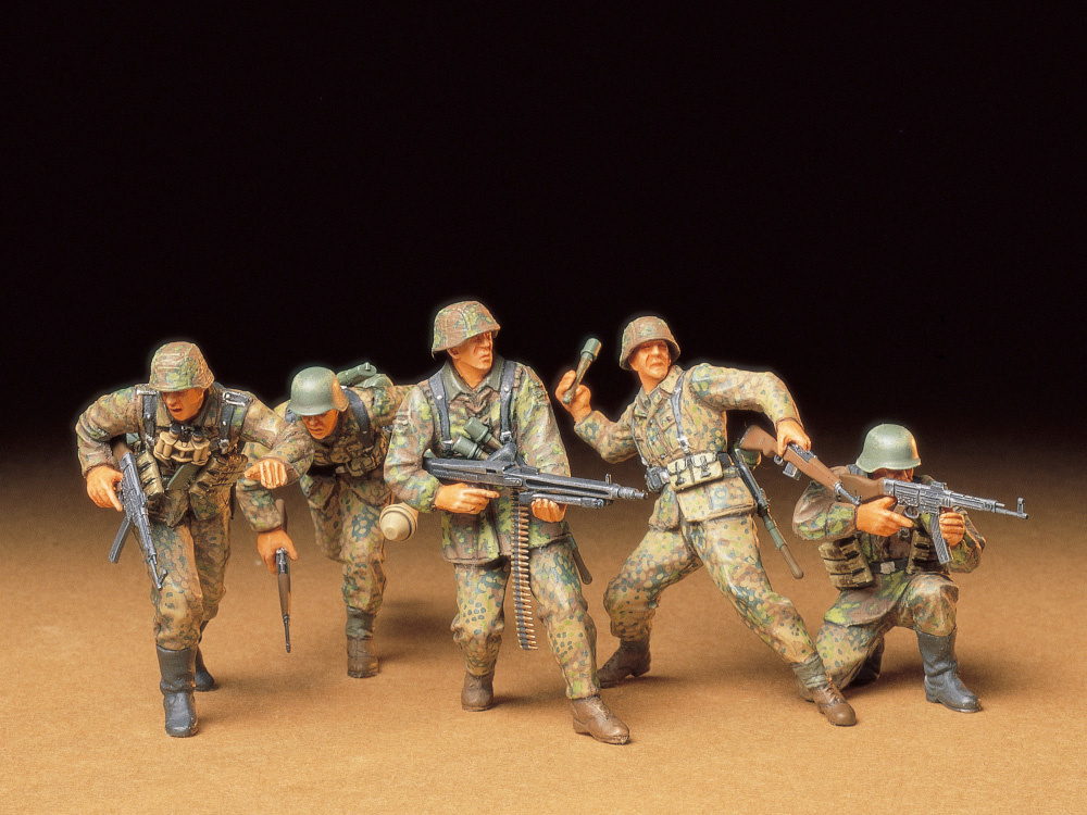 Tamiya German Front-Line Infantrymen - Scale 1/35 - Tamiya - TAM35196