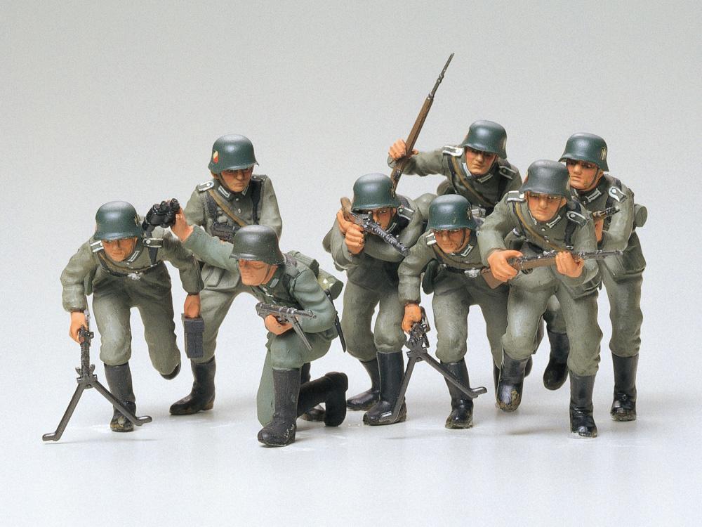 Tamiya German Assault Troops - Scale 1/35 - Tamiya - TAM35030