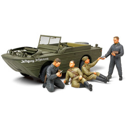 Russian Reconnaissance Team With Amphibious 4X4 Truck - Scale 1/35 - Tamiya - TAM89771
