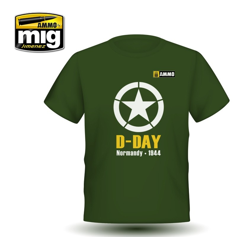 Ammo by Mig Jimenez Merchandise - D-Day T-Shirt - A.MIG-8029