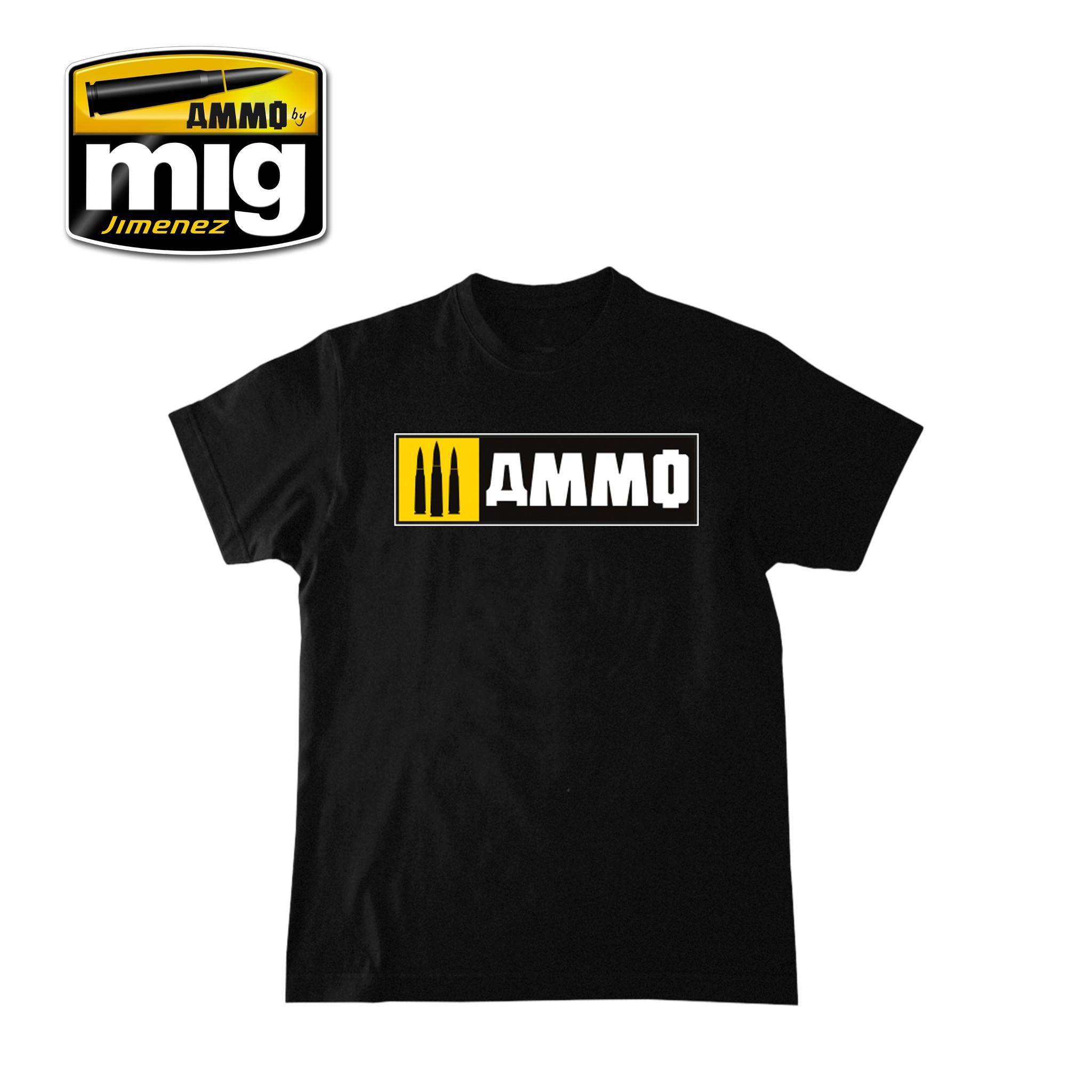Ammo by Mig Jimenez Merchandise - Ammo Easy Logo T-Shirt - A.MIG-8023
