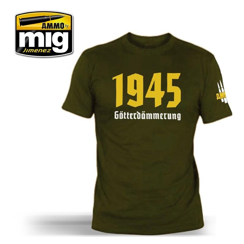 Ammo by Mig Jimenez 1945 T-Shirt - A.MIG-8011