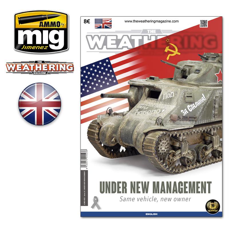 The Weathering Magazine The Weathering Magazine Issue 24. Under New Management - English - Ammo by Mig Jimenez - A.MIG-4523