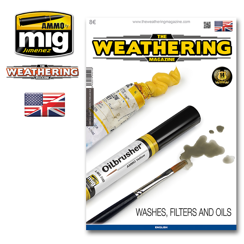 The Weathering Magazine The Weathering Magazine Issue 17. Washes, Filters And Oils - English - AMMO by Mig Jimenez - A.MIG-4516