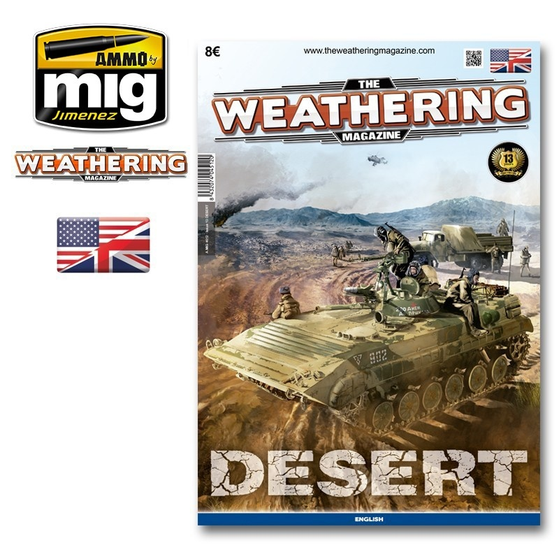 The Weathering Magazine The Weathering Magazine Issue 13. Desert - English - Ammo by Mig Jimenez - A. MIG-4512
