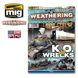 The Weathering Magazine Issue 9. K.O. And Wrecks - English - Ammo by Mig Jimenez - A. MIG-4508