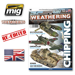 The Weathering Magazine Issue 3. Chipping - English - Ammo by Mig Jimenez - A.MIG-4502