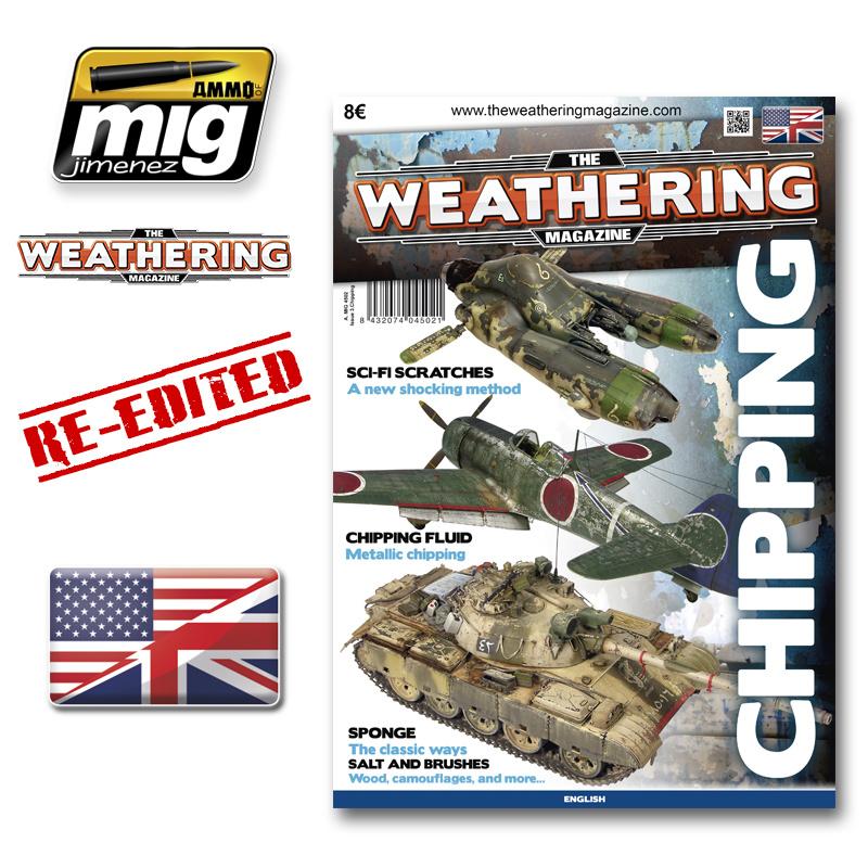 The Weathering Magazine The Weathering Magazine Issue 3. Chipping - English - Ammo by Mig Jimenez - A.MIG-4502