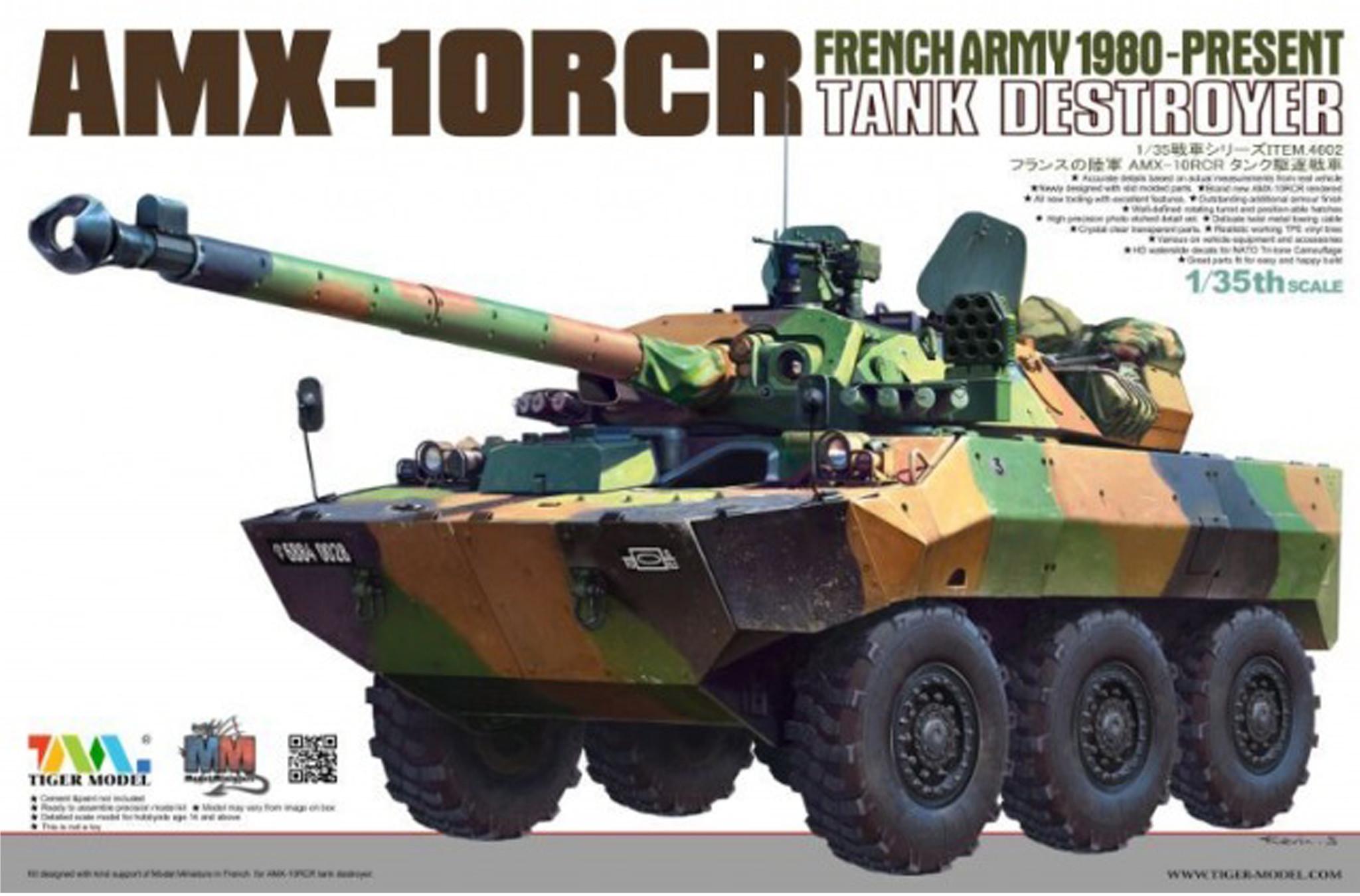 Tiger Model Amx 10 Rcr - Tiger Model - Scale 1/35 - TIGE4602