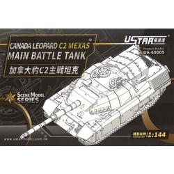 Canada Leopard C2 Mexas Main Battle Tank - Scale 1/144 - U-star Models - UA-60005