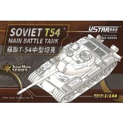 Soviet T-54 Main Battle Tank - Scale 1/144 - U-star Models - UA-60004