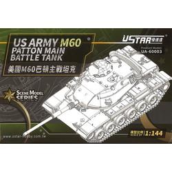 Us Army M60 Battle Tank - Scale 1/144 - U-star Models - UA-60003