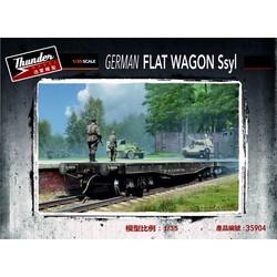 German Ssyl Flat Wagon - Scale 1/35 - Thunder Models - TM35904