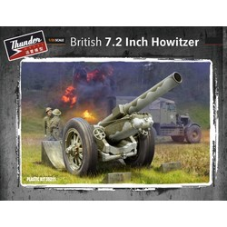 British 7.2 Inch Howitzer - Scale 1/35 - Thunder Models - TM35211