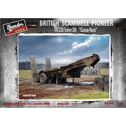 Scammell Pioneer Trcu30 Goose Neck Trailer 30T - Scale 1/35 - Thunder Models - TM35208