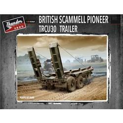British Trcu30 Trailer 30T - Scale 1/35 - Thunder Models - TM35205