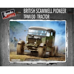 Scammell Pioneer Tractor Trmu30 - Scale 1/35 - Thunder Models - TM35204