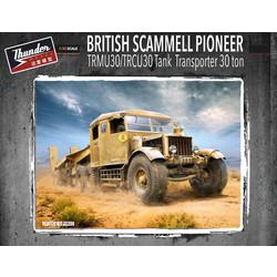 Scammell Pioneer Tank Transporter 30T - Scale 1/35 - Thunder Models - TM35200