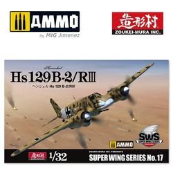 Hs 129 B-2 RIII - Zoukei Mura - Scale 1/32 - VOLKSWS17