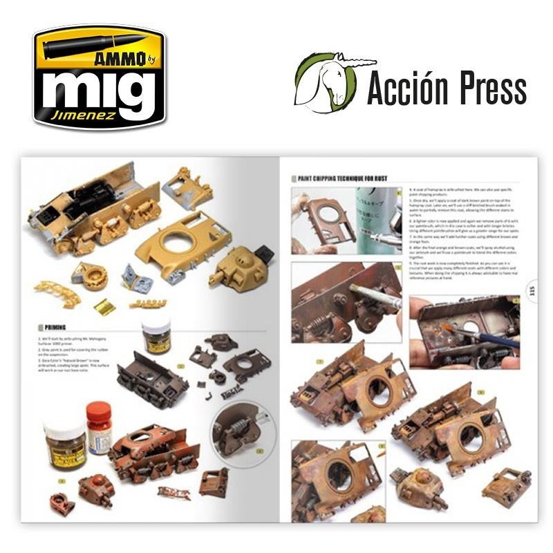 Ammo by Mig Jimenez Diorama Project 1.1 - Afv At WarEnglish - EURO-0021