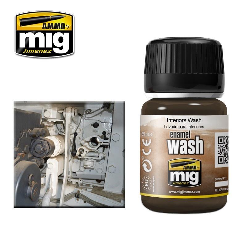 Ammo by Mig Jimenez Interiors Wash - A.MIG-1003
