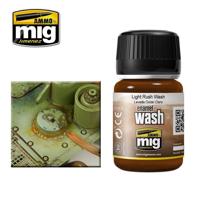 Ammo by Mig Jimenez Light Rust Wash - A.MIG-1004