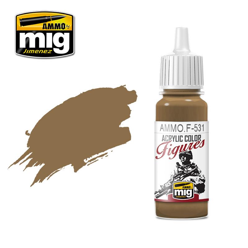 Ammo by Mig Jimenez Figure Series Light Brown - 17ml - AMMO.F-531