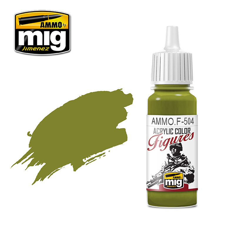 Ammo by Mig Jimenez Figure Series Yellow Green FS-34259 - 17ml - AMMO.F-504
