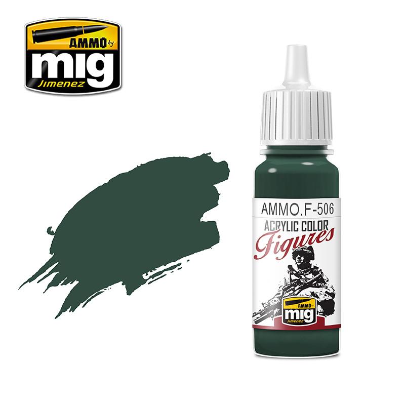 Ammo by Mig Jimenez Figure Series Medium Russian Green FS-34092 - 17ml - AMMO.F-506
