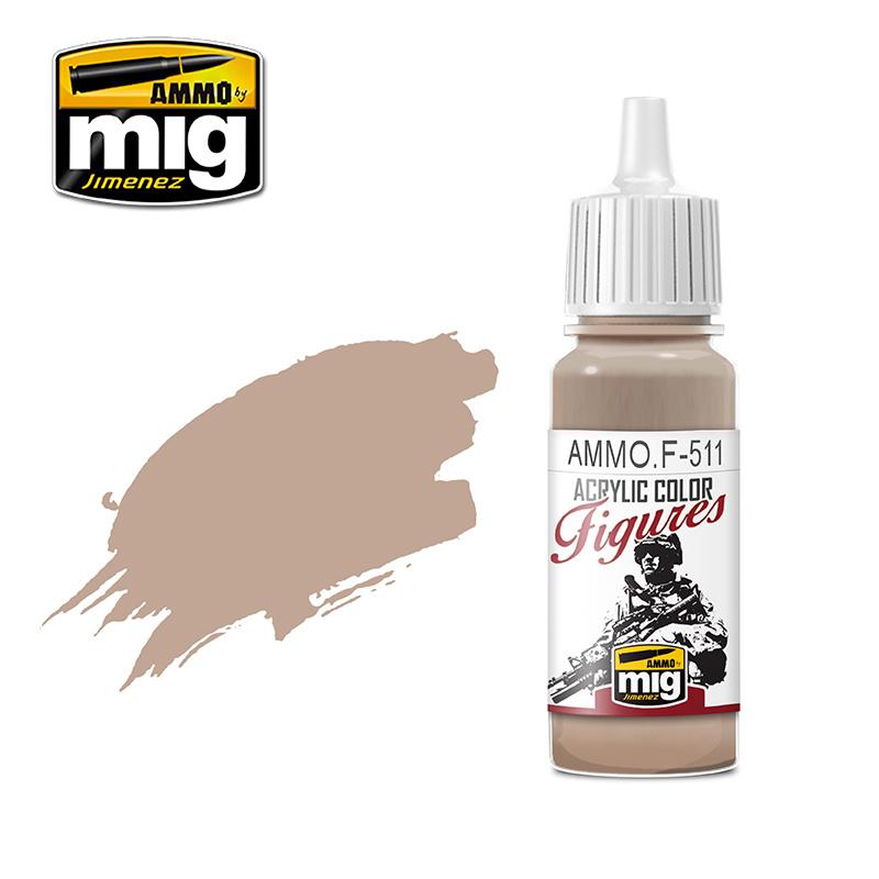 Ammo by Mig Jimenez Figure Series Light Sand FS-33727 - 17ml - AMMO.F-511