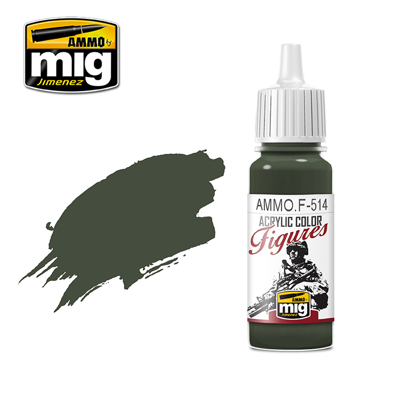 Ammo by Mig Jimenez Figure Series Field Grey Shadow FS-34086 - 17ml - AMMO.F-514