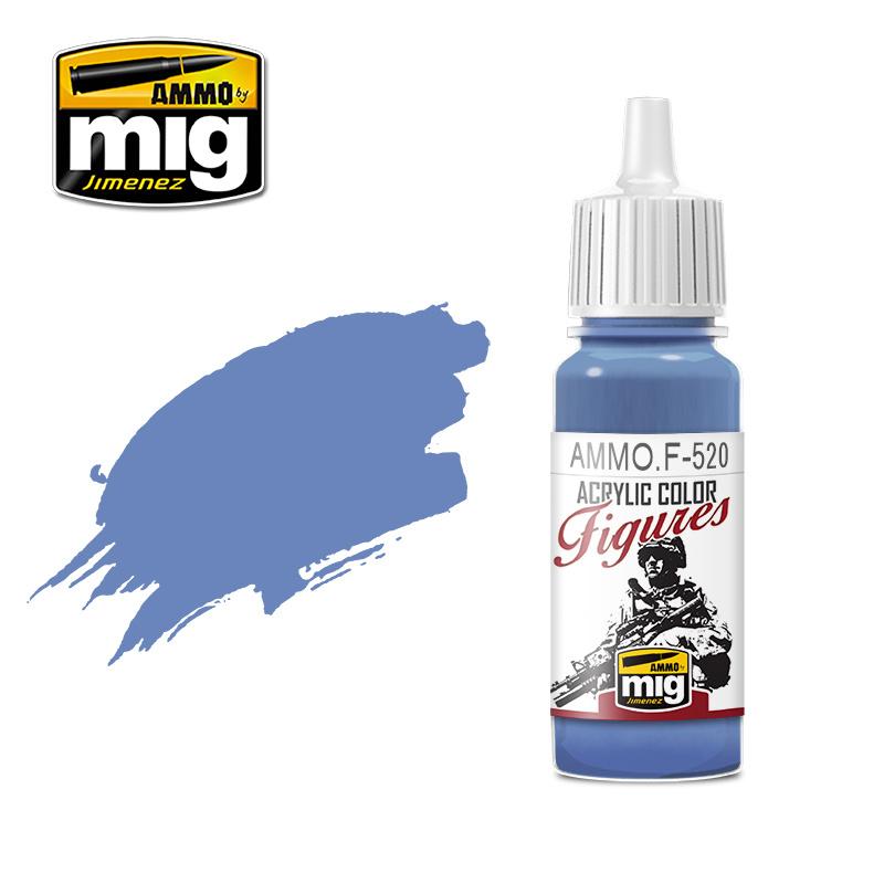 Ammo by Mig Jimenez Figure Series Deep Cobalt Blue - 17ml - AMMO.F-520