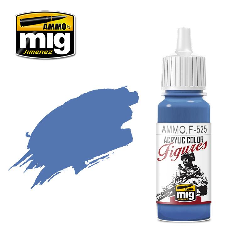 Ammo by Mig Jimenez Figure Series Medium Blue - 17ml - AMMO.F-525