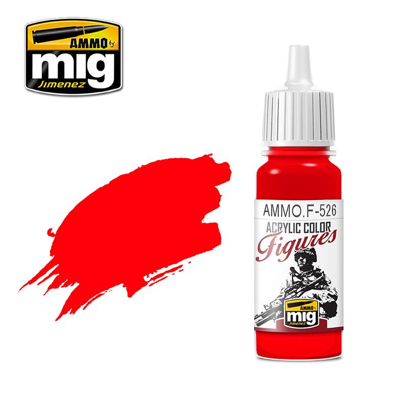 Ammo by Mig Jimenez Figure Series Pure Red - 17ml - AMMO.F-527