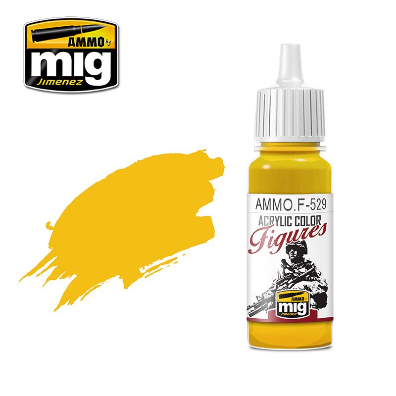 Ammo by Mig Jimenez Figure Series Pure Yellow - 17ml - AMMO.F-529