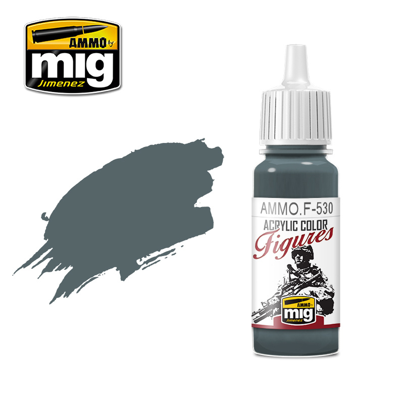 Ammo by Mig Jimenez Figure Series Bluish Grey - 17ml - AMMO.F-530
