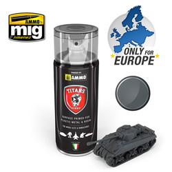 Titans Hobby - Panzergrau Matt Primer (German Dark Grey) - 400ml - TTH112