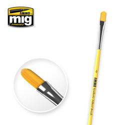 6 Syntetic Filbert Brush A.MIG-8596