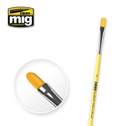 4 Syntetic Filbert Brush - A.MIG-8595