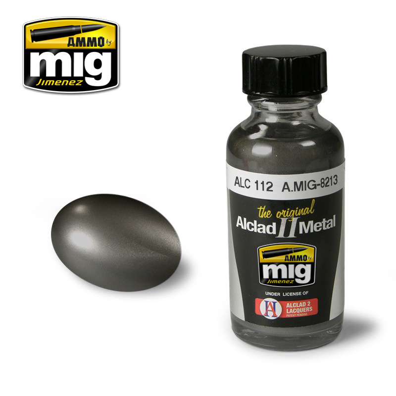Ammo by Mig Jimenez Alclad by Ammo - Steel Alc112 - 30ml - A.MIG-8213