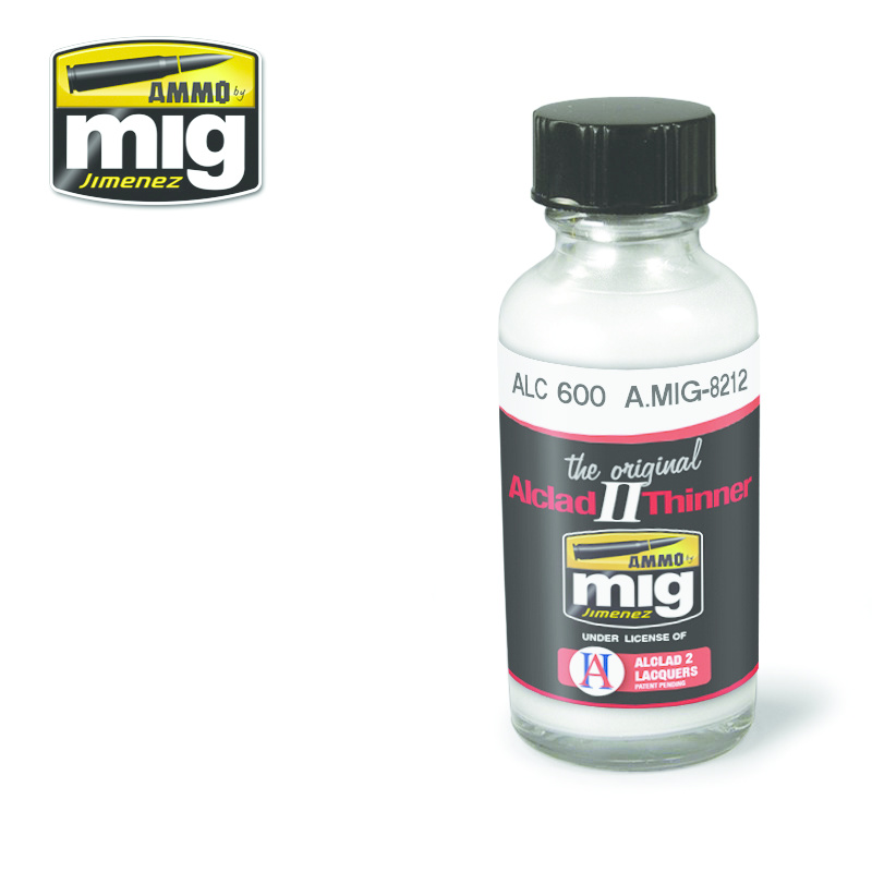 Ammo by Mig Jimenez Alclad by Ammo - Aqua Gloss Clear Alc600 - 30ml - A.MIG-8212
